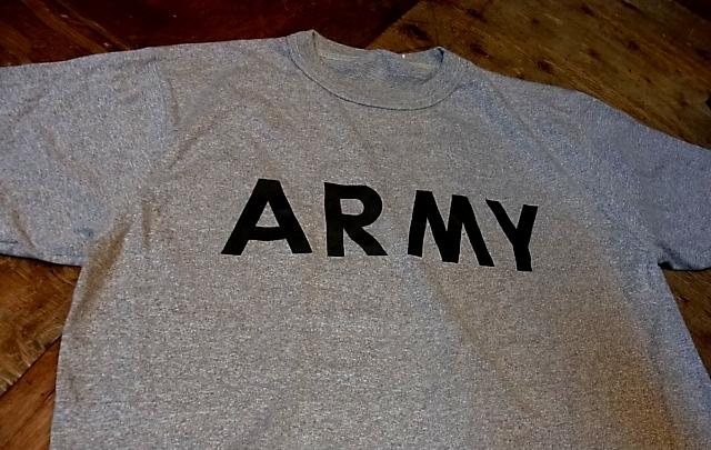 6/1(土)入荷商品!ARMY バインダーネックTシャツ!_c0144020_14562941.jpg