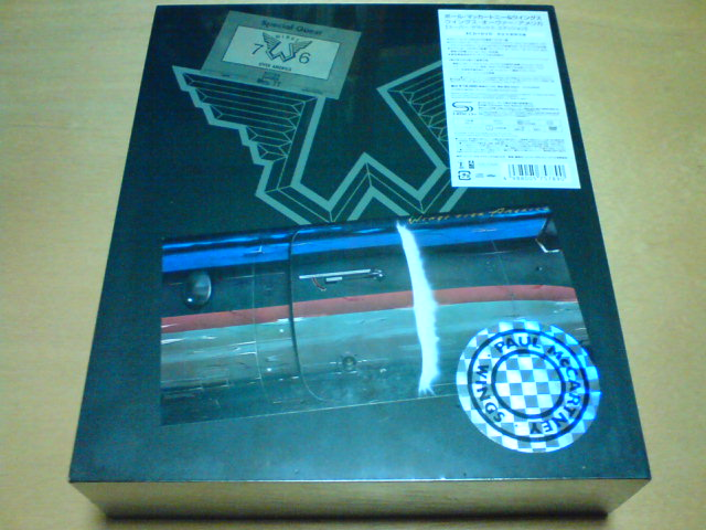 本日到着高級品 〜 WINGS OVER AMERICA - Paul McCartney Archive Collection / Paul McCartney and Wings_c0104445_2126232.jpg