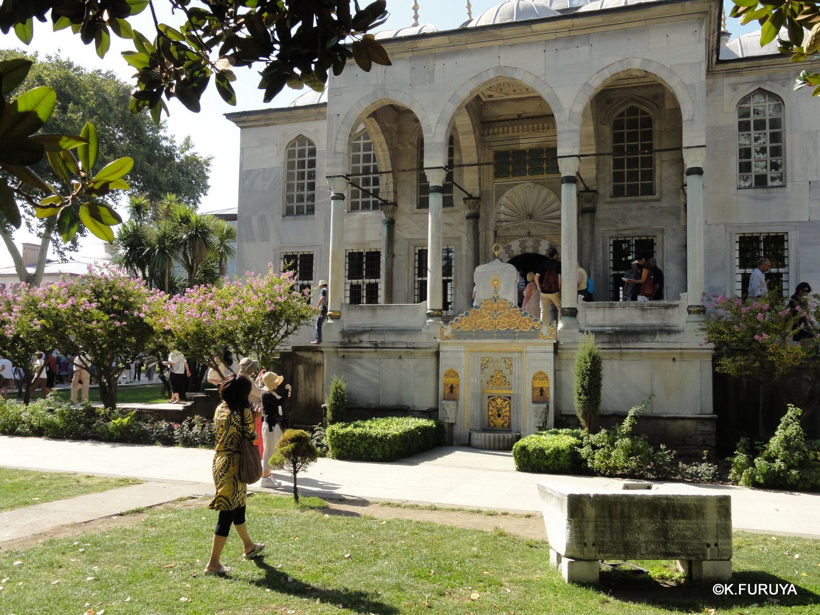 トルコ旅行記 36 トプカピ宮殿Ⅲ_a0092659_18185424.jpg
