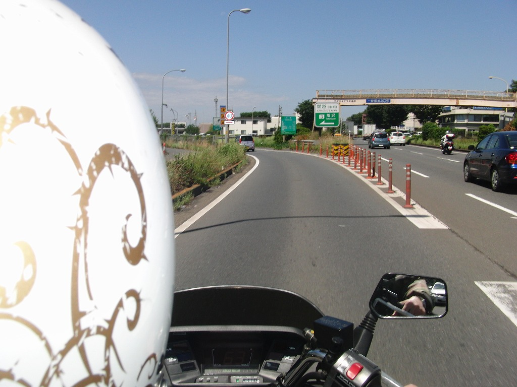 やはり快晴の日はバイクでGO!日焼けして帰宅_d0061678_23482972.jpg