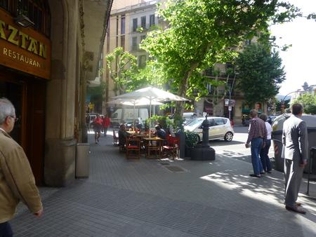 スペイン バルセロナシリーズ  バルセロナで夕食_b0011584_21451828.jpg
