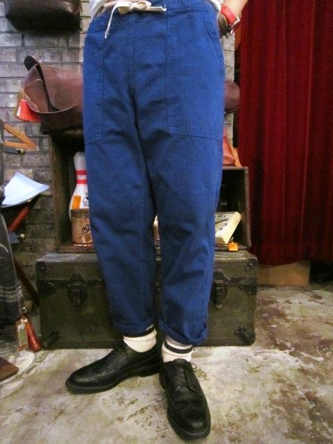 "ANACHRONORM \""Tapered Easy Pants\"" ご紹介_f0191324_9224277.jpg"