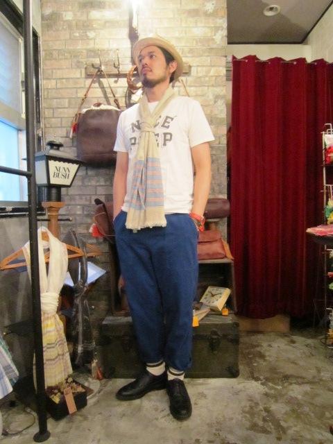 "ANACHRONORM \""Tapered Easy Pants\"" ご紹介_f0191324_9225914.jpg"