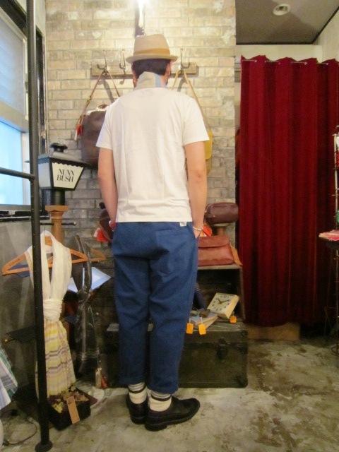 "ANACHRONORM \""Tapered Easy Pants\"" ご紹介_f0191324_9235595.jpg"