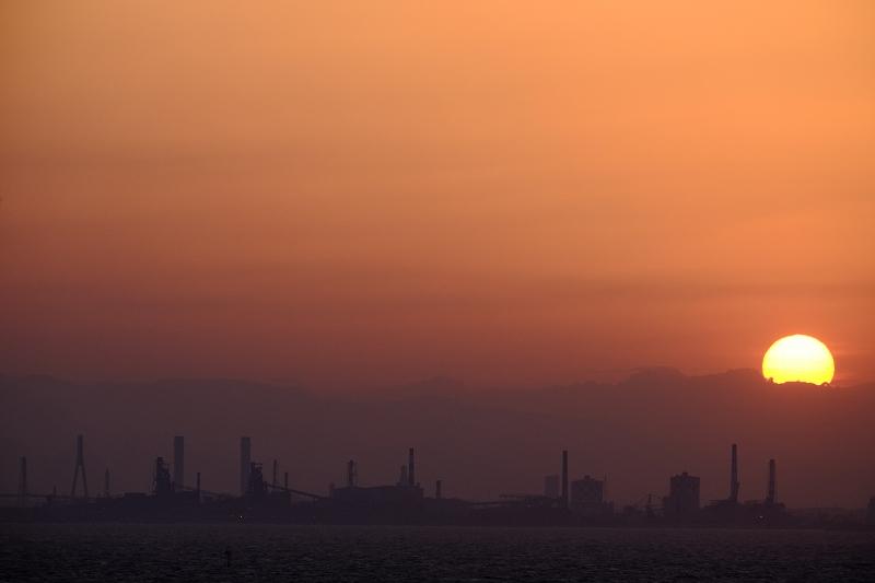 Tokyo Bay sunset by FUJINON 55~200mm_f0050534_8591245.jpg