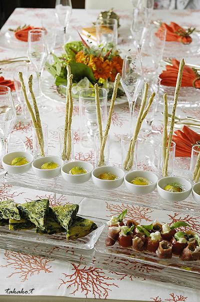 Salon de clover おもてなし料理レポ☆_c0070460_1372946.jpg