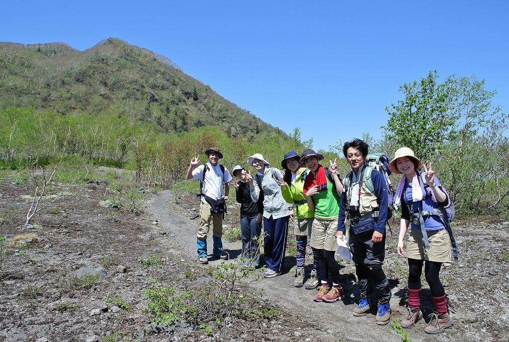 5月31日、風不死岳と樽前山-その2-_f0138096_23495521.jpg