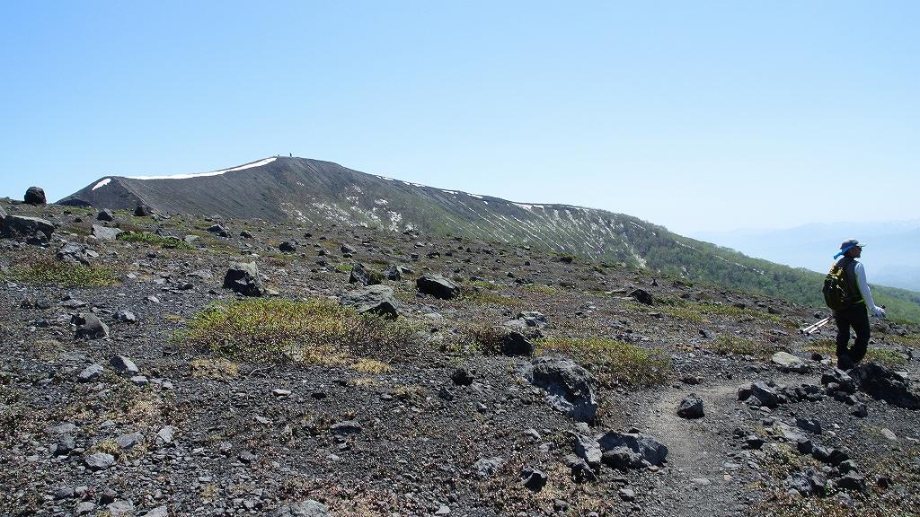 5月31日、風不死岳と樽前山-その2-_f0138096_23503763.jpg