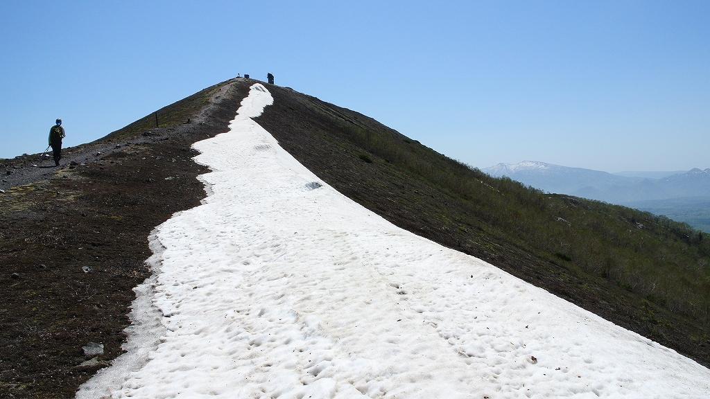 5月31日、風不死岳と樽前山-その2-_f0138096_23505534.jpg
