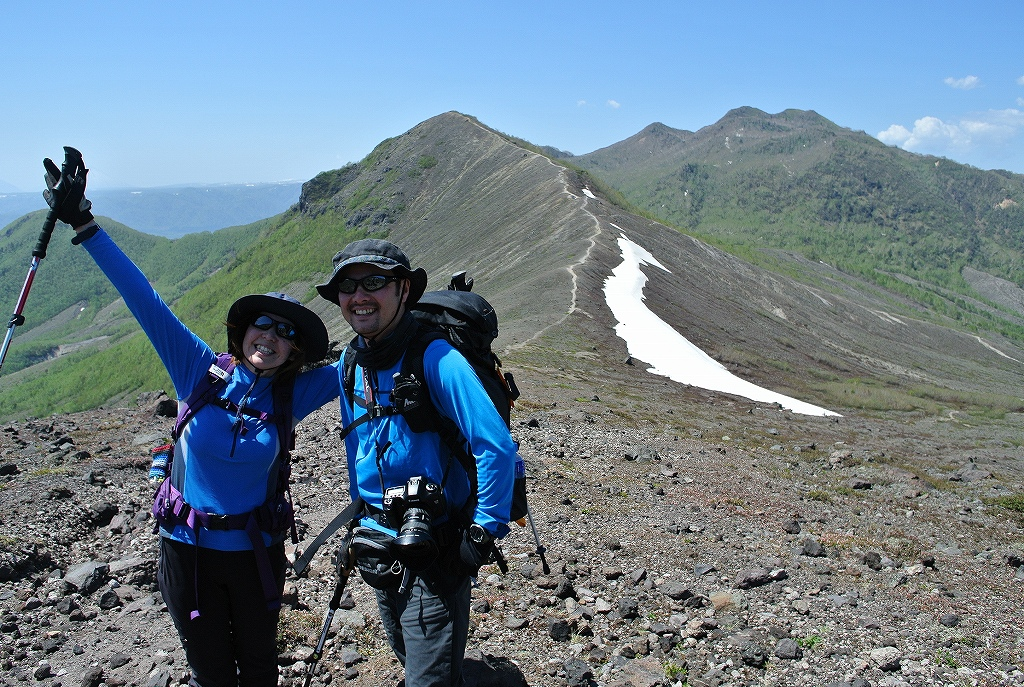 5月31日、風不死岳と樽前山-その2-_f0138096_2350571.jpg