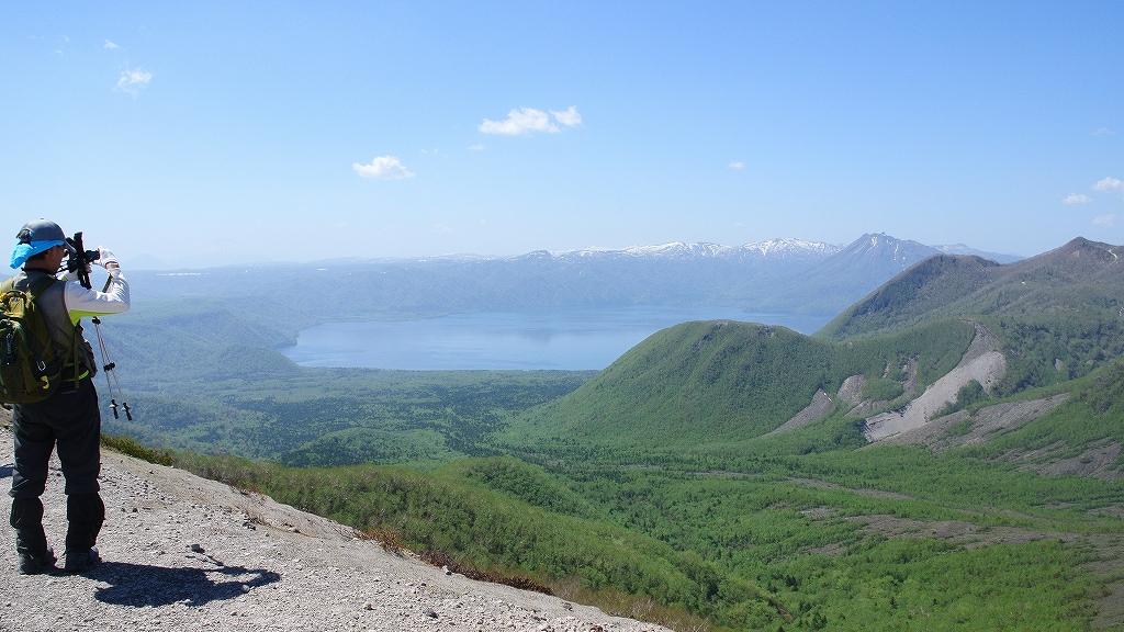 5月31日、風不死岳と樽前山-その2-_f0138096_2351749.jpg