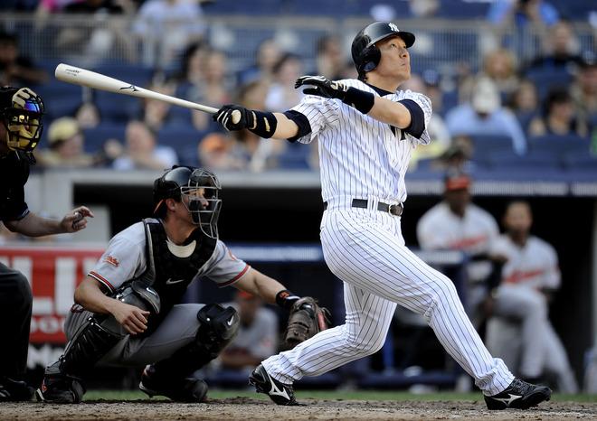 ヤンキースで2003年から2009年までプレー