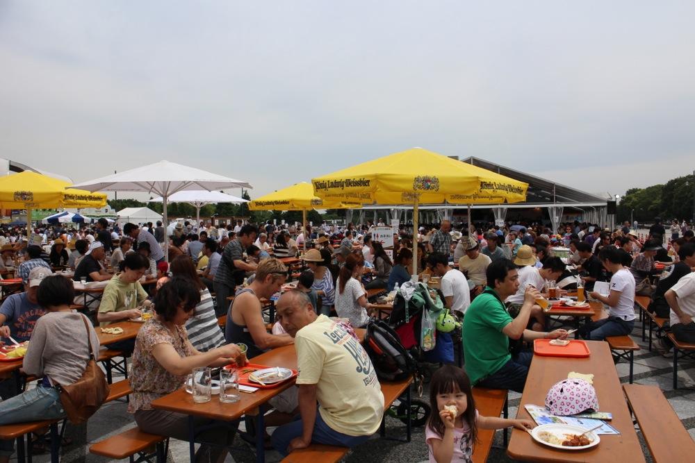 オクトーバーフェスト at 駒沢公園_f0209434_10464297.jpg