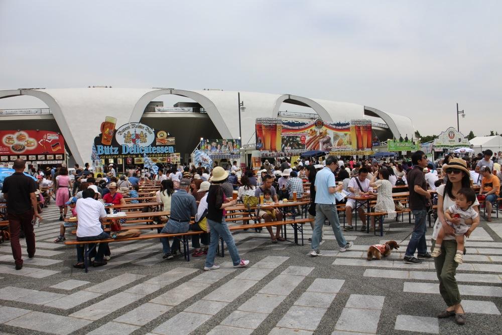 オクトーバーフェスト at 駒沢公園_f0209434_1047127.jpg