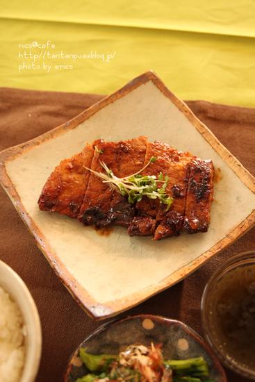 お弁当や自家製冷凍食品に!豚の味噌漬け_f0192151_1053966.jpg