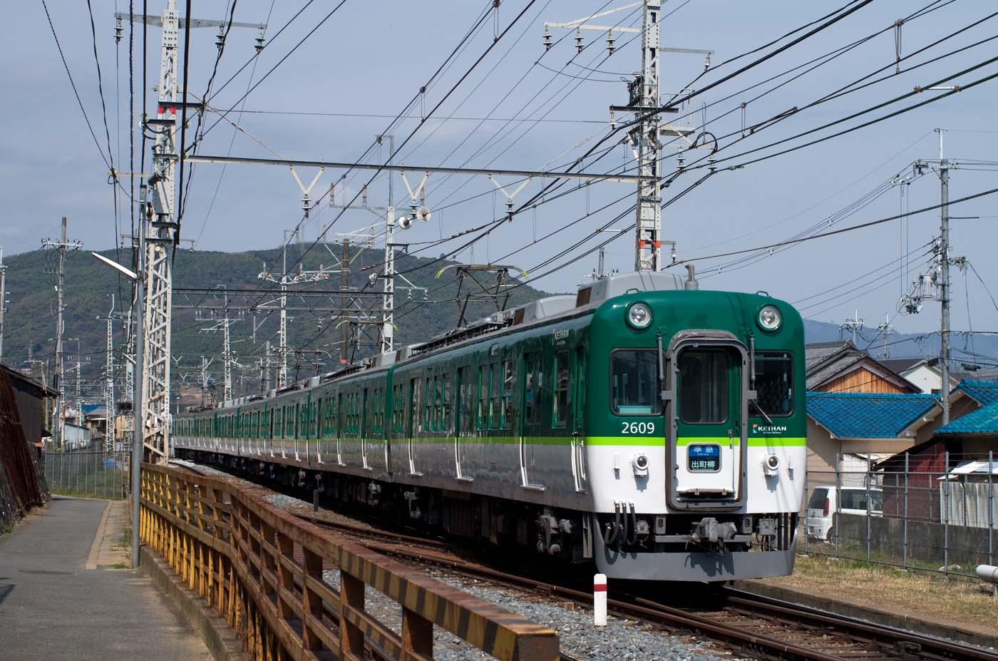 京阪旧3000系、引退記念の特別運行_e0070773_20471260.jpg