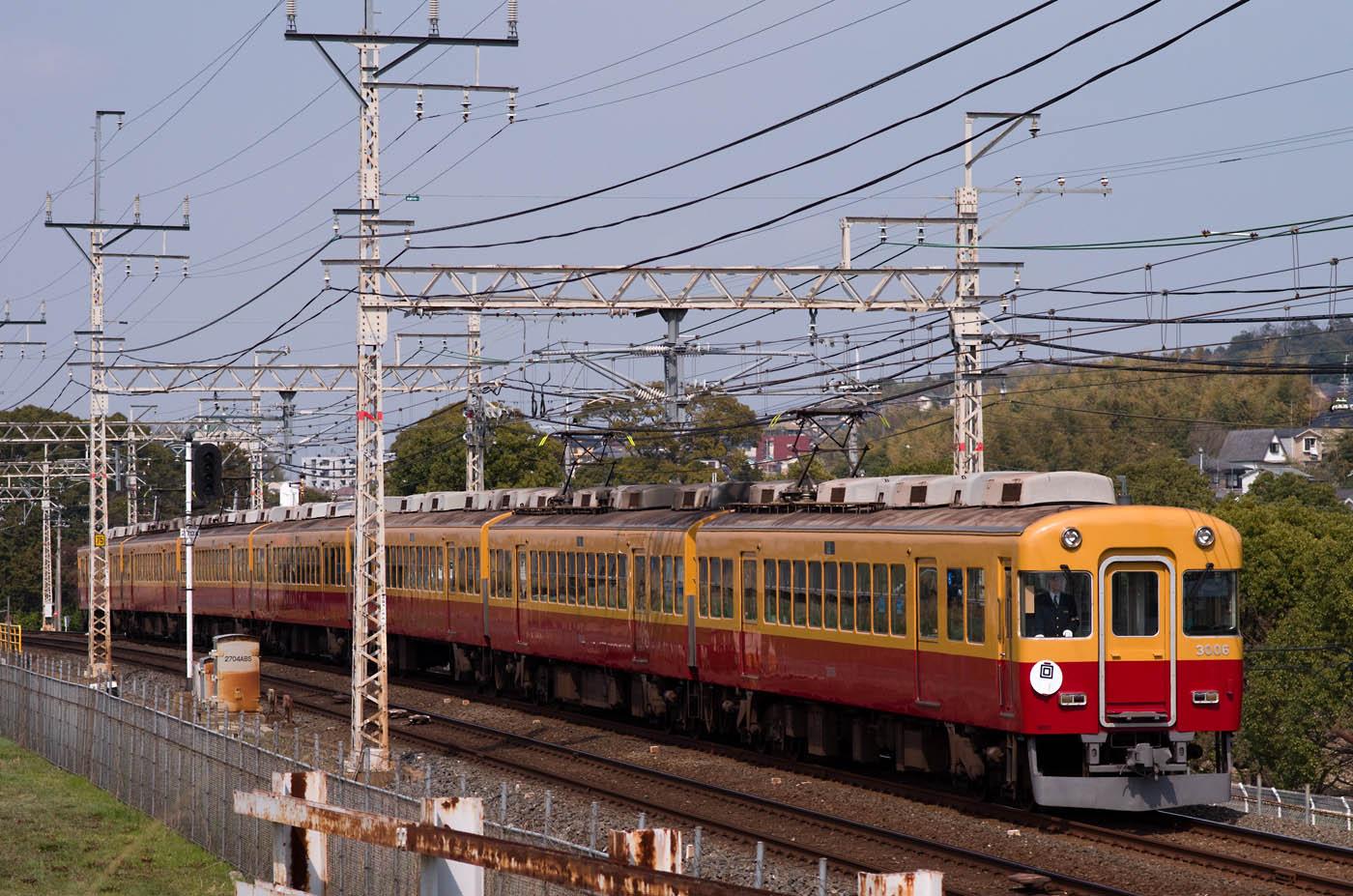 京阪旧3000系、引退記念の特別運行_e0070773_2112533.jpg