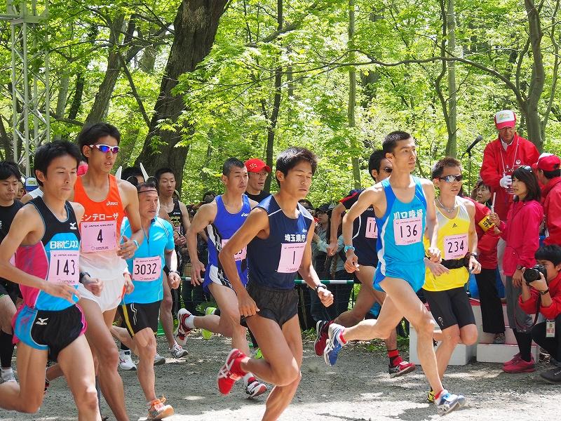 千歳JAL国際マラソンに川内選手_f0138096_119427.jpg