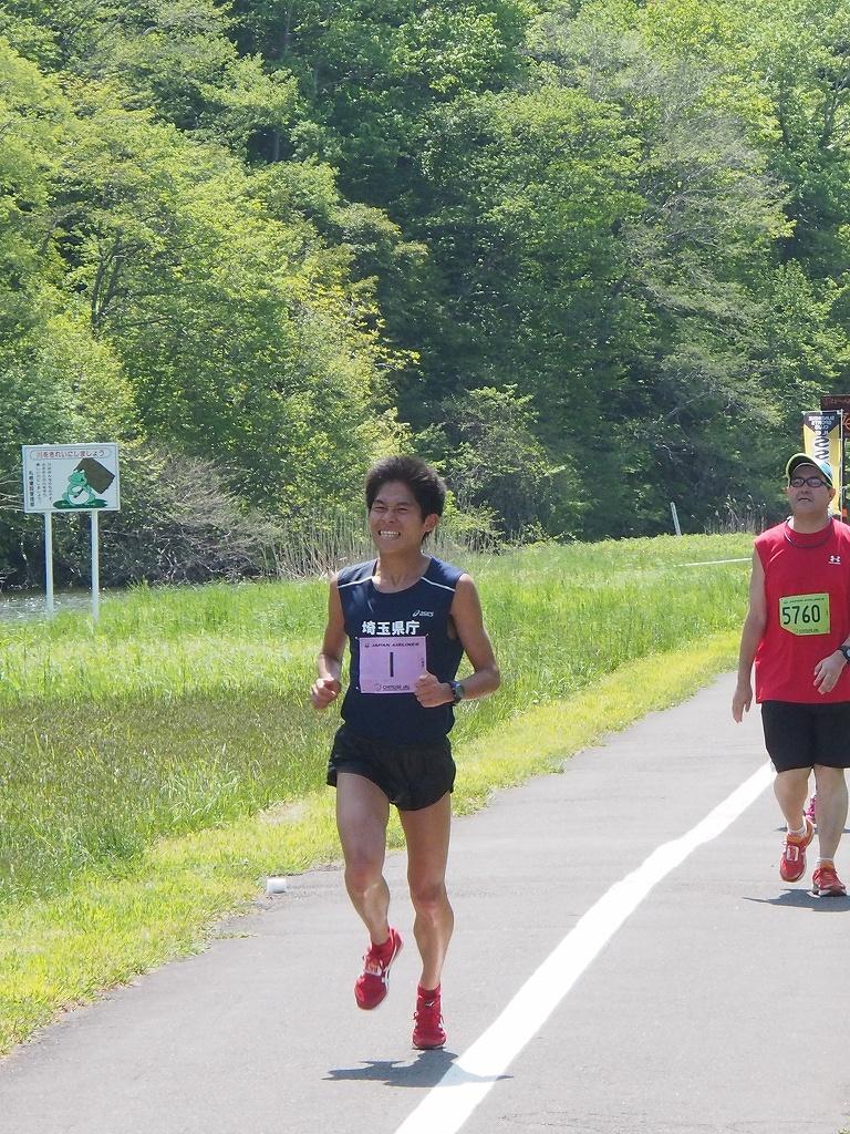 千歳JAL国際マラソンに川内選手_f0138096_12544646.jpg