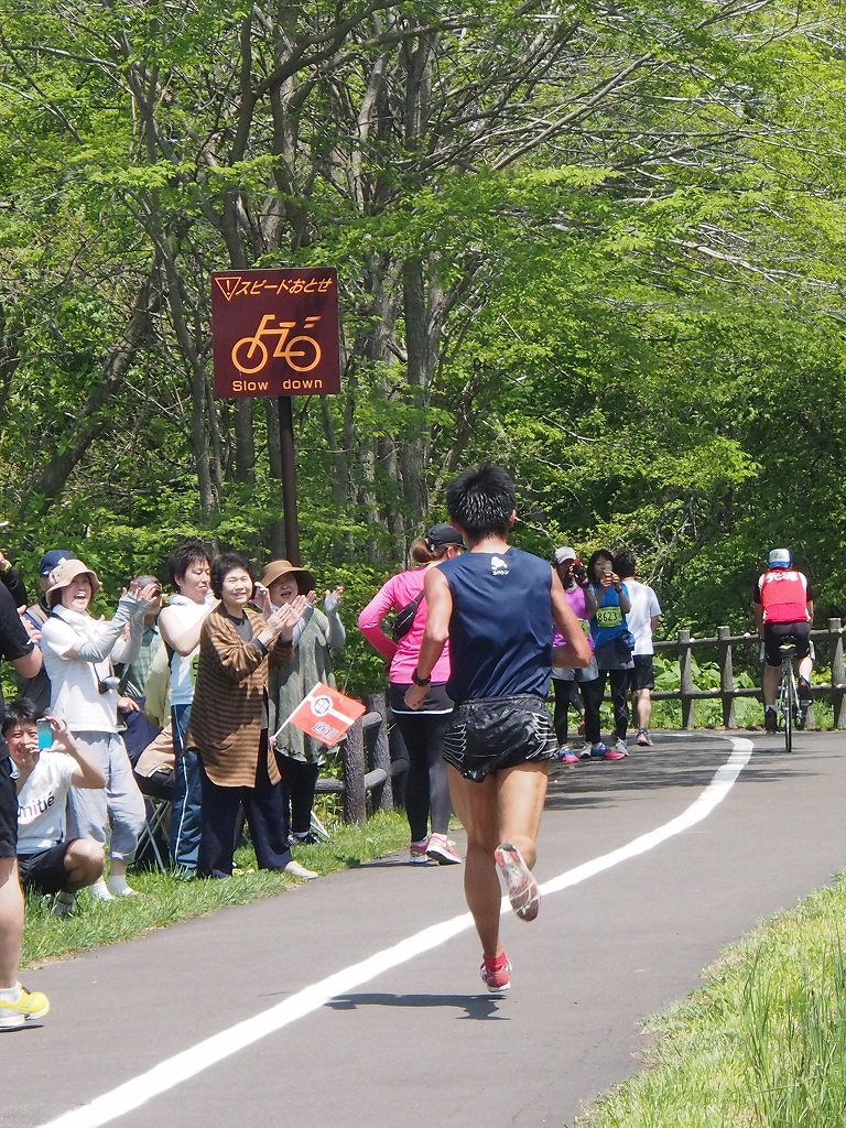 千歳JAL国際マラソンに川内選手_f0138096_1255542.jpg