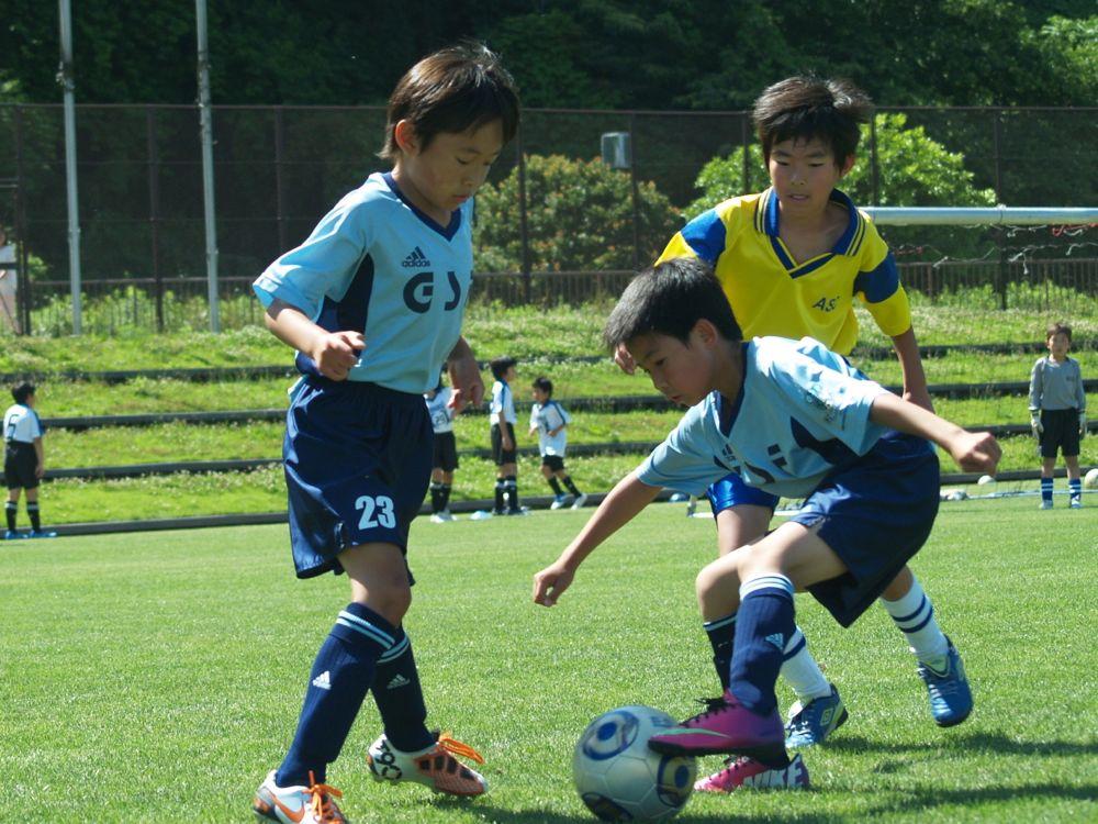 第65回あすなろ杯少年サッカー大会Lの部予選リーグ_a0109316_1519204.jpg