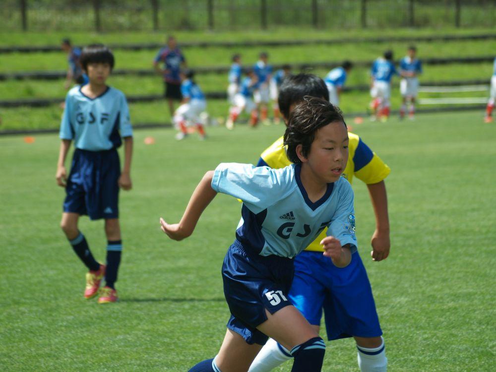 第65回あすなろ杯少年サッカー大会Lの部予選リーグ_a0109316_15193175.jpg