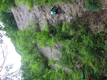 山での遊び!≪岩登り≫_f0101226_19221883.jpg