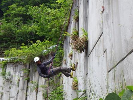 山での遊び!≪岩登り≫_f0101226_1955216.jpg