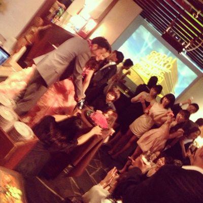 五大君 & きりちゃん wedding party ☆_c0151965_15473526.jpg
