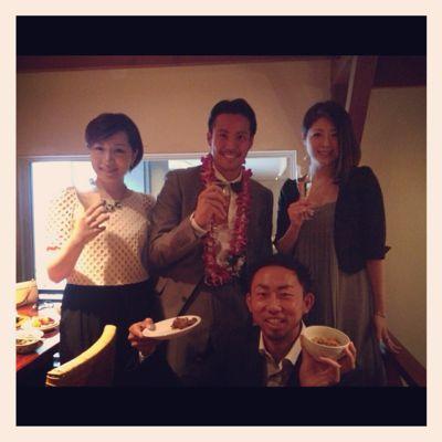 五大君 & きりちゃん wedding party ☆_c0151965_15473663.jpg