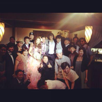 五大君 & きりちゃん wedding party ☆_c0151965_15473827.jpg