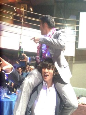 五大君 & きりちゃん wedding party ☆_c0151965_15474839.jpg