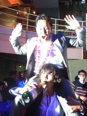 五大君 & きりちゃん wedding party ☆_c0151965_15474989.jpg