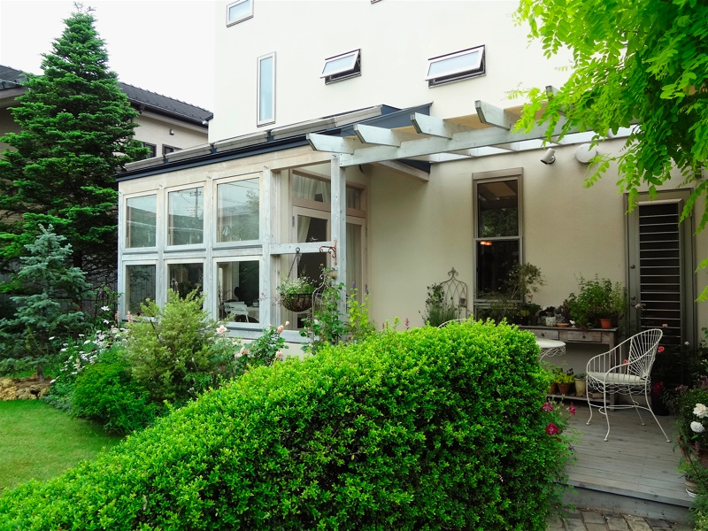 「鶴ヶ島の家」2013.6.1_f0230666_1054737.jpg