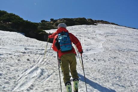 2013年5月31日残雪豊富な鳥海山祓川口コースで春スキーを楽しむ_c0242406_14472331.jpg
