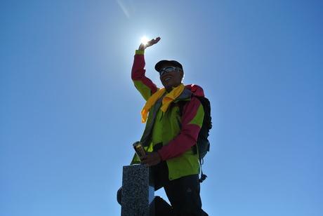 2013年5月31日残雪豊富な鳥海山祓川口コースで春スキーを楽しむ_c0242406_1459147.jpg