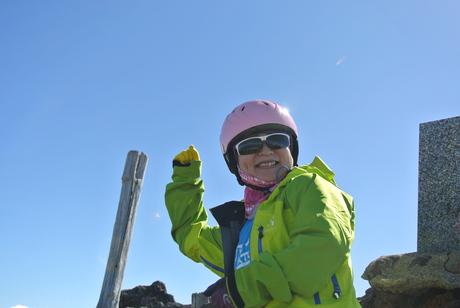 2013年5月31日残雪豊富な鳥海山祓川口コースで春スキーを楽しむ_c0242406_16253268.jpg