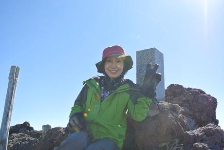 2013年5月31日残雪豊富な鳥海山祓川口コースで春スキーを楽しむ_c0242406_16264180.jpg