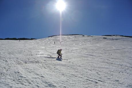 2013年5月31日残雪豊富な鳥海山祓川口コースで春スキーを楽しむ_c0242406_1629451.jpg