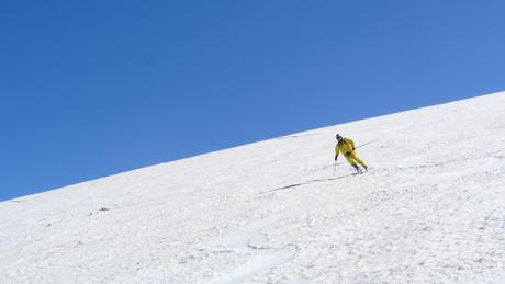 2013年5月31日残雪豊富な鳥海山祓川口コースで春スキーを楽しむ_c0242406_1631337.jpg