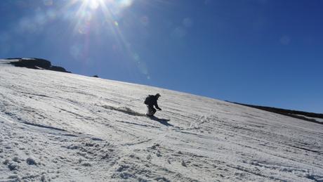 2013年5月31日残雪豊富な鳥海山祓川口コースで春スキーを楽しむ_c0242406_16352920.jpg