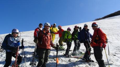2013年5月31日残雪豊富な鳥海山祓川口コースで春スキーを楽しむ_c0242406_1636528.jpg
