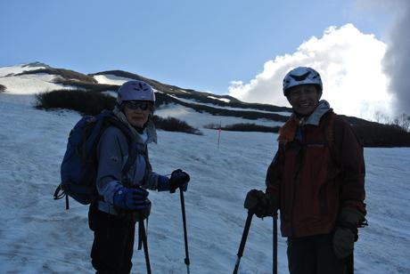 2013年5月31日残雪豊富な鳥海山祓川口コースで春スキーを楽しむ_c0242406_16475716.jpg