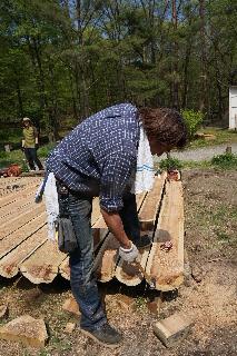 田沢湖キャンプ場 ウッドデッキプロジェクト その3_f0105112_20232088.jpg