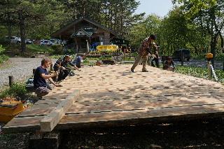 田沢湖キャンプ場 ウッドデッキプロジェクト その3_f0105112_20251016.jpg