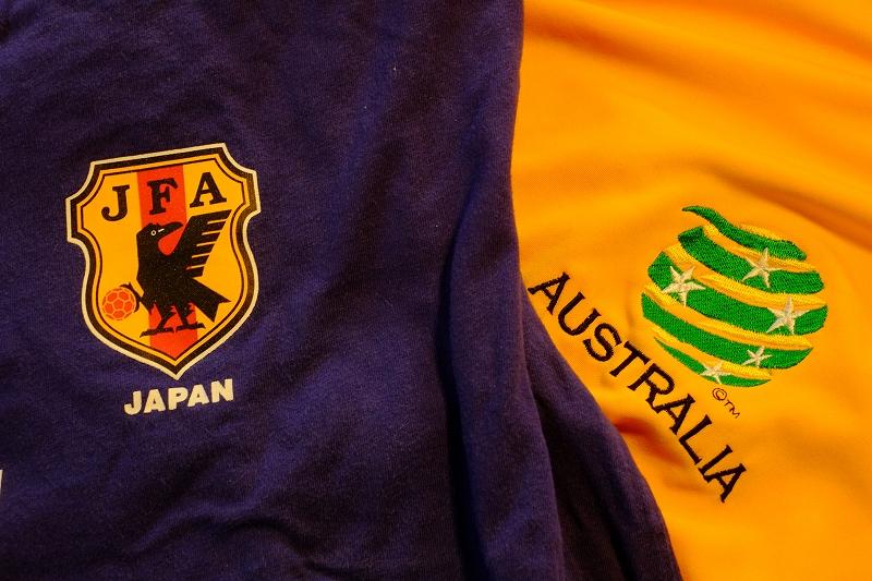 日本VSオーストラリア  W杯アジア最終予選_f0050534_7391519.jpg