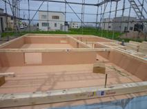 建て方開始(東雁来編)_a0076136_13335582.jpg