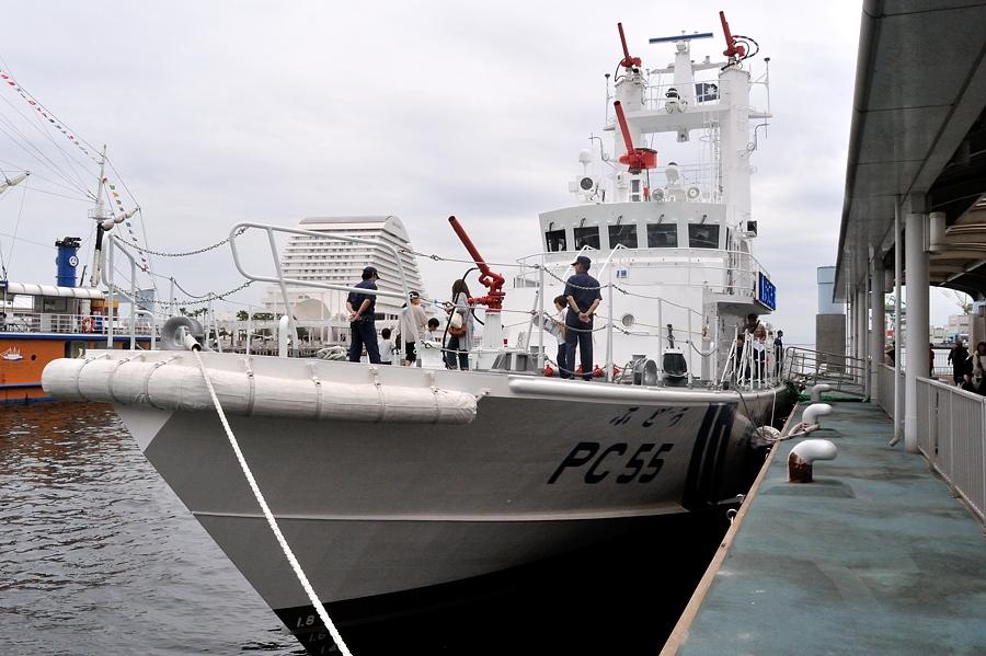 巡視艇「ふどう」一般公開_d0148541_19515464.jpg