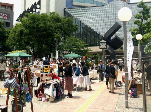 MOTTAINAIてづくり市開催報告 @池袋西口公園_e0105047_18165792.jpg