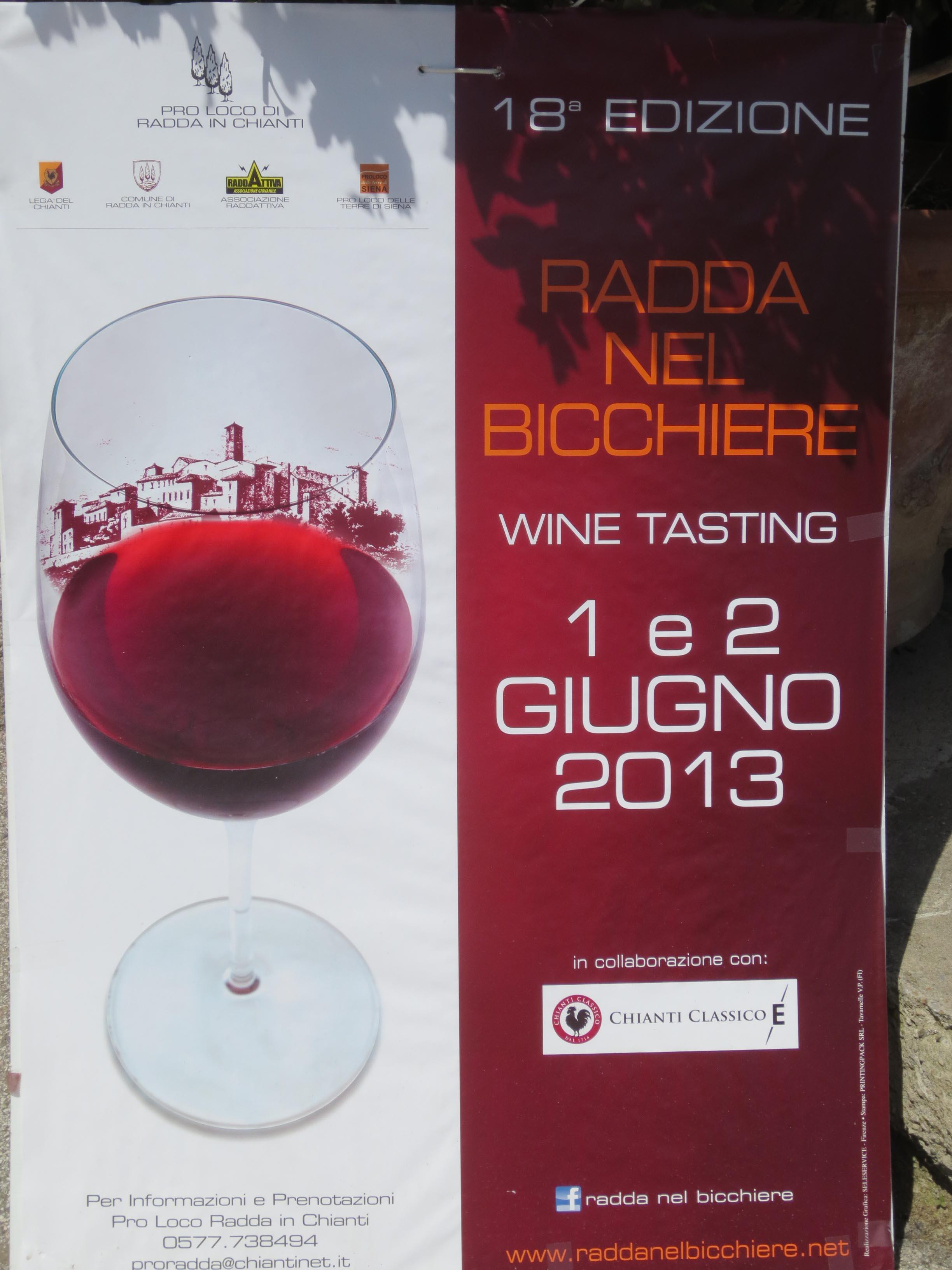 我が家のワイン教室ー今回はRADDA IN CHIANTI_c0179785_58083.jpg